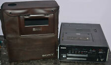 Vintage Sony Betamax Portable Beta Videocassette Recorder SL-3000 with Case