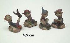 lot de 4 figurines PIXIE ELFE PIXIES FARFADET KORRIGAN de 4,5 cm G29-10