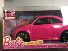 Barbie Volkswagen VW Beetle Car Includes Barbie Doll