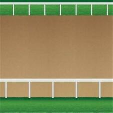 Dirt Racetrack Backdrop 30 Foot Horse Birthday Party Decorations