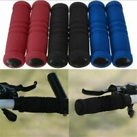 1 Pair MTB Bike Bicycle Handle Handlebar Soft Durable Sponge Bar Grip Covers DT