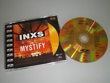 CD VIDEO INXS MYSTIFY CD OR / GOLD EDITION TRES RARE COLLECTOR SLIM CASE 1989