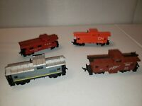 AS IS  assorted caboose HO Scale salvage parts lot AS IS