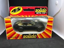 Alfa Romeo Alfetta GTV Solido Diecast Toy Car 1/43