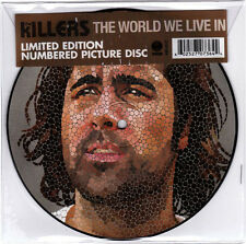 KILLERS - The World We Live In - 7 inch Vinyl single New & Unplayed Picture Disc