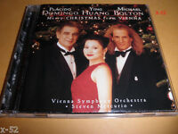 Placido DOMINGO ying HUANG michael BOLTON cd MERRY CHRISTMAS from VIENNA