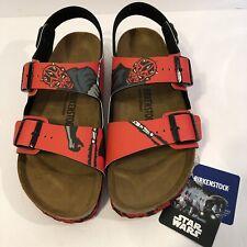 NEW!! Birkenstock - Mens Star Wars Darth Maul Ankle Strap Sandal sz 42 M9 L11
