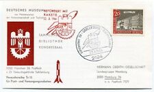 1964 Versuchsreihe Tr11 Raketen Deutsches Museum Sahlenburg Berlin Hamburg SPACE
