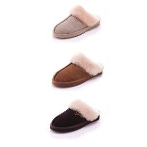 Snowpaw Ladies Women Stylish Classic Casual Slip On Sheepskin Slippers New 4 6 7