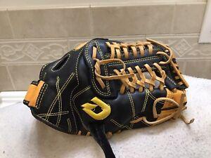 "DeMarini Diablo 11.75"" Youth Baseball Softball Infielders Glove Right Hand Throw"