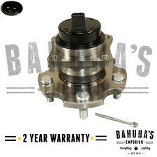REAR WHEEL HUB AND BEARING KIT FOR A TOYOTA AVENSIS MK2 2.2 05-08 2YR WARRANTY