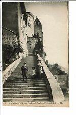 CPA Carte postale-France-Rocamadour Le grand Escalier   VM30495at