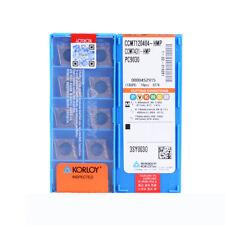 H●KORLOY CCMT120404-HMP PC9030 Carbide Inserts CNC TOOL.