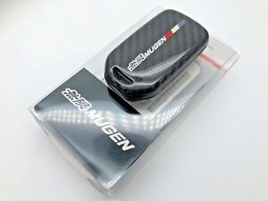 MUGEN CARBON FIBER SMART CAR KEY FOB COVER ACCORD CIVIC CRV JAZZ FIT ODYSSEY HRV