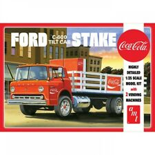AMT 1/25 Ford C600 Stake Bed w/Coca-Cola Machine AMT1147