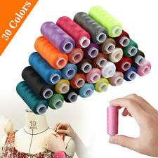 30 Color 250 Yards polyester Sewing Thread sewing machine line polyester thread