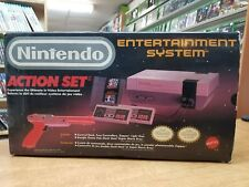 Nintendo NES Entertainment System Action Set Bundle in Box *NEW 72 Pins*