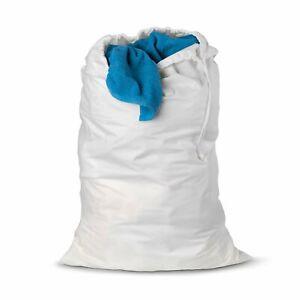 Honey-Can-Do LBG-01143 Nylon Laundry Bag, White