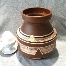 ESR SAWA Vase Ritzdekor 50er/60er Jahre Form 258-15 sgraffito Kerbschnitt
