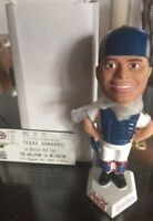 Ivan Rodriguez Texas Rangers SGA 2001 FIRST PUDGE Bobblehead NEW IN BOX + TICKET