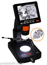 GEMAX PRO DIGITAL MICROSCOPE w/ LCD SCREEN & LED LIGHT