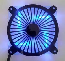 Custom 140mm TURBINE Computer Fan Grill Gloss Black Acrylic Cooling Cover Mod