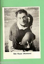 1967  BOB KEYES  MIRROR NEWSPAPER RUGBY LEAGUE CARD, NEWTOWN
