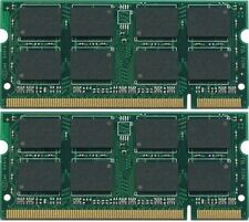 4GB 2x2GB KIT DDR2 SODIMM 200PIN PC2-5300 667 667Mhz Memory for Laptop Notebook