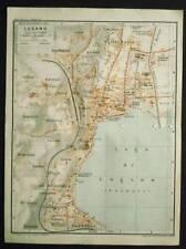 Antica=Topografica=LUGANO_CITTA=Scala1:15000 1907..