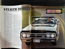 1966 Olds Cutless 4-4-2 -  6-Page Original Article - Oldsmobile- Free Shipping