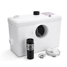 Sanitary Macerator Pump Waste Pump for Toilet Sink Shower-- 95m Discharge