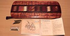 Hawaii Handmade Exotic Wood Koa Vintage Cribbage Score Board Artist Signed Gift