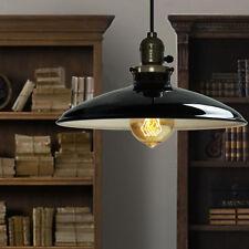 Black Ceiling Lamp Kitchen LED Lighting Bar Vintage Pendant Light Office Lamp
