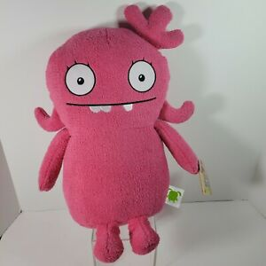 "Hasbro Ugly Dolls Moxy Large Cuddly Plush 16"" NWT Pink"