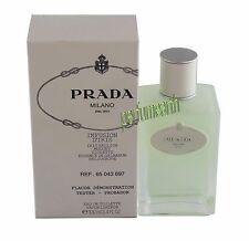 Prada Milano Infusion D'Iris Tster  Perfume  3.4/3.3 oz EDT  Spray Women New Tst