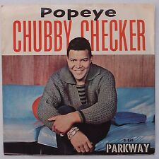 CHUBBY CHECKER: Limbo Rock / Popeye USA Parkway Orig 45 w/ PS