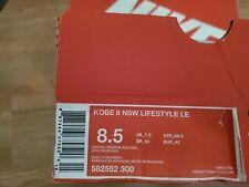 Nike Kobe 8 NSW Lifestyle LE 'GORGE GREEN' 582552-300, SIZE 8.5 NIB