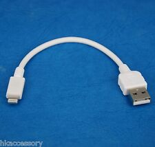 """4"""" 10cm Quick Fast Charger ONLY USB cable WHITE for iPad Air 2 4 mini 3 Retina"""