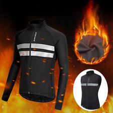 Велосипедная куртка зимняя тепловой флис ветрозащитная с длинным рукавом пальто Mtb велосипед Gilet