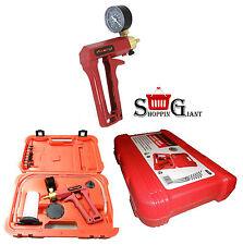 Portable Car Diesel Brakes Bleeding Bleeder Vacuum Pump Tool Kit + Gauge  CT2311