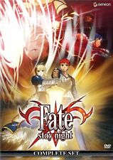 Fate Stay Night: Complete Collection - ANIME - BRAND NEW (DVD, 2009, 4-Disc Set)