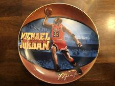 "Michael Jordan ""His Airness"" Commemorative Plate Limited Edition"
