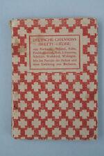 O.J.Bierbaum - Deutsche Chansons. (Brettl-Lieder)