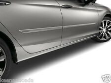 Genuine OEM Honda Accord 4DR Sedan Painted Body Side Molding 2013 - 2017