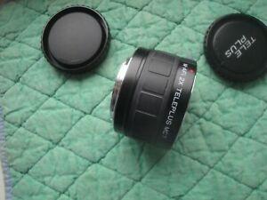 MINOLTA/SONY A mc7 auto focus 2x tele converter MINT