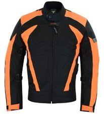 BULLDT Textil Motorradjacke, Neon-Orange