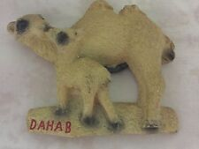 Unique Egyptian Camels Fridge Magnet Hand Made In Egypt !!!! WOW