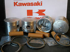 KAWASAKI Z1 KZ900 PISTON KITS (4) NEW +0.5mm (66.5mm) Z900 Z1A Z1B KiR