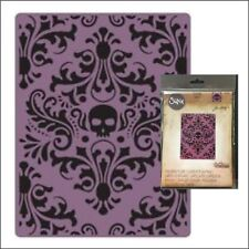 Sizzix embossing folders Skull Damask embossing folder Tim Holtz 662390 Haloween