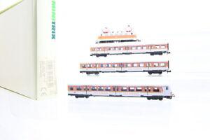 N Trix 70165 DB 141 441-6 Zug-Set Elektrolok E-Lok S-Bahnwagen analog OVP/J44